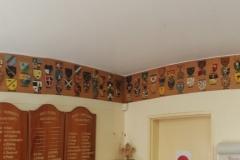 Wood badge shields
